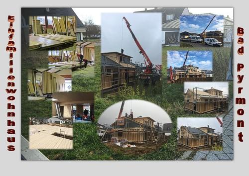 Einfamilienhaus in Bad Pyrmont - Holzbau Ohms