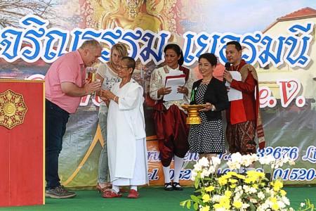Thai Tempel Lügde Jubiläum 2019 a