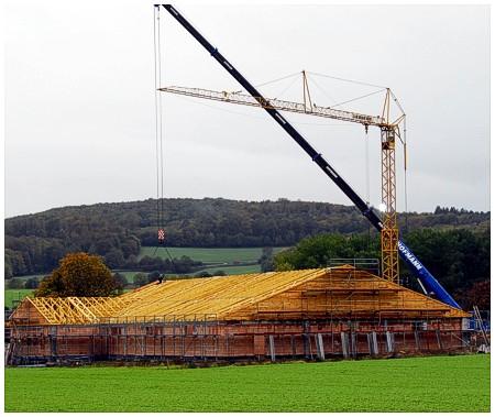 Holzbau Ohms Dacharbeit Dachkonstruktion