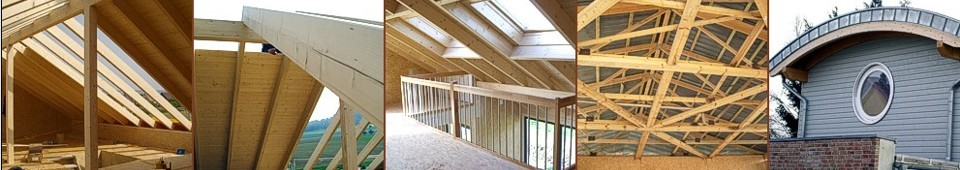 Dacharbeiten Dachkonstruktion - Holzbau Ohms Lügde