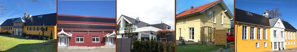 Dacharbeiten Fassadenarbeit - Holzbau Ohms Lügde
