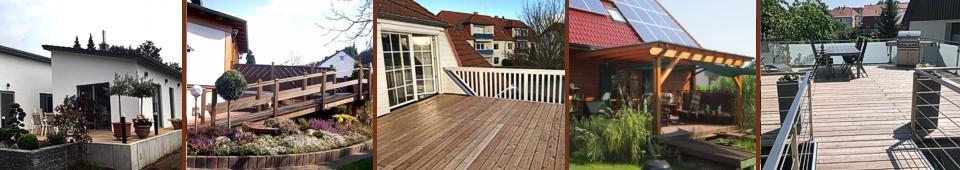Holzbau Balkone Terassen - Holzbau Ohms Lügde