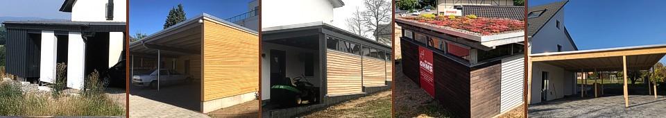 Holzbau Carport - Holzbau Ohms Lügde