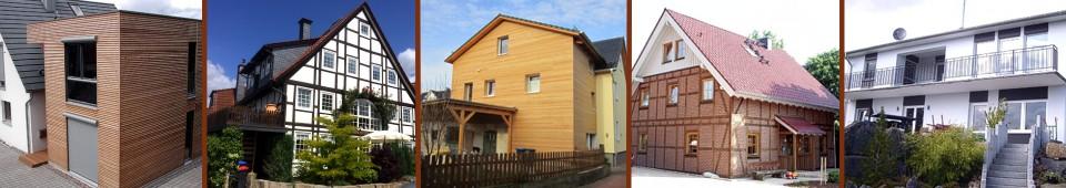 Sanierung Fertighaus Sanierung - Holzbau Ohms Lügde